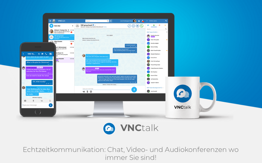 Neue Features für VNCtalk