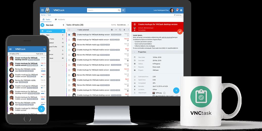 Organisieren Sie Ihre Aufgaben jetzt noch besser – mit VNCtask Listen