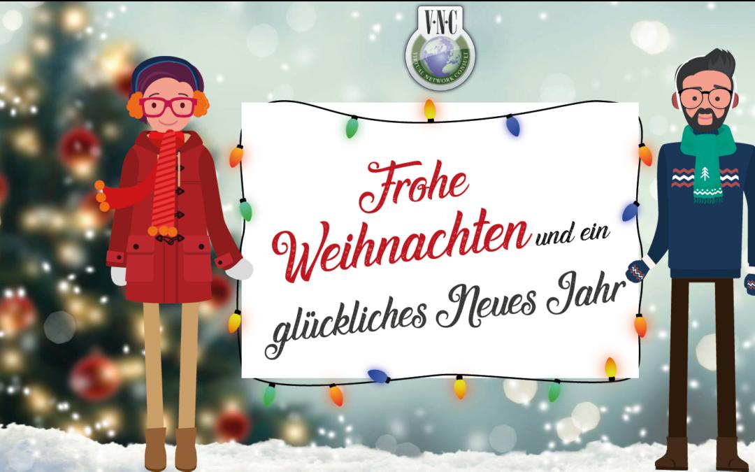 VNC wünscht frohe Weihnachten und ein glückliches neues Jahr