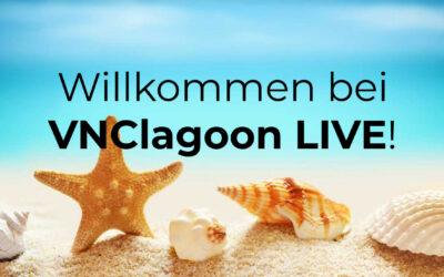 Bleiben Sie in Verbindung – VNClagoon LIVE mit noch mehr Funktionen!