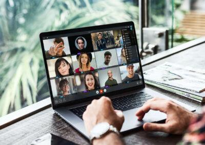 VNCtalk on desktop / working from home