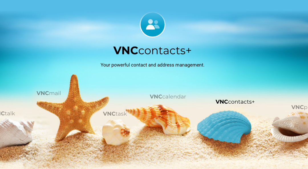 VNCcontacts+ Version 1.1 released