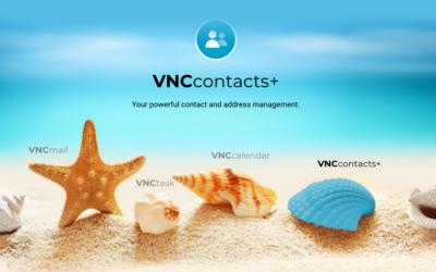 Kontaktverwaltung: VNCcontacts+ Version 1.1 veröffentlicht