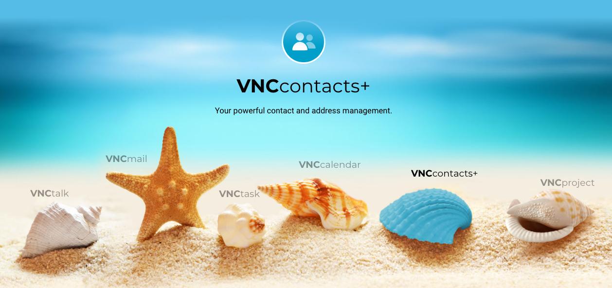 VNCcontacts+ Kontaktmanagement / Contact management